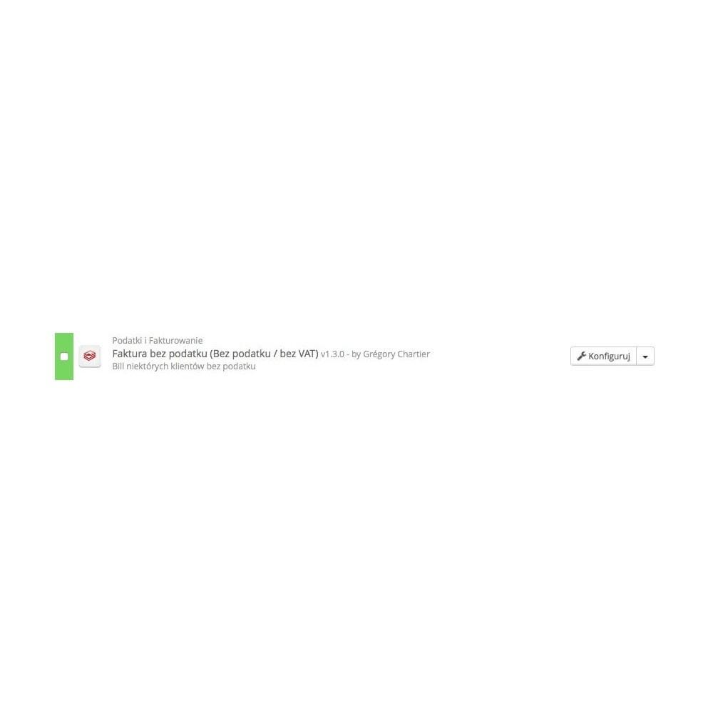 module - Księgowość & Fakturowania - Faktura bez podatku (Bez podatku / bez VAT) - 3