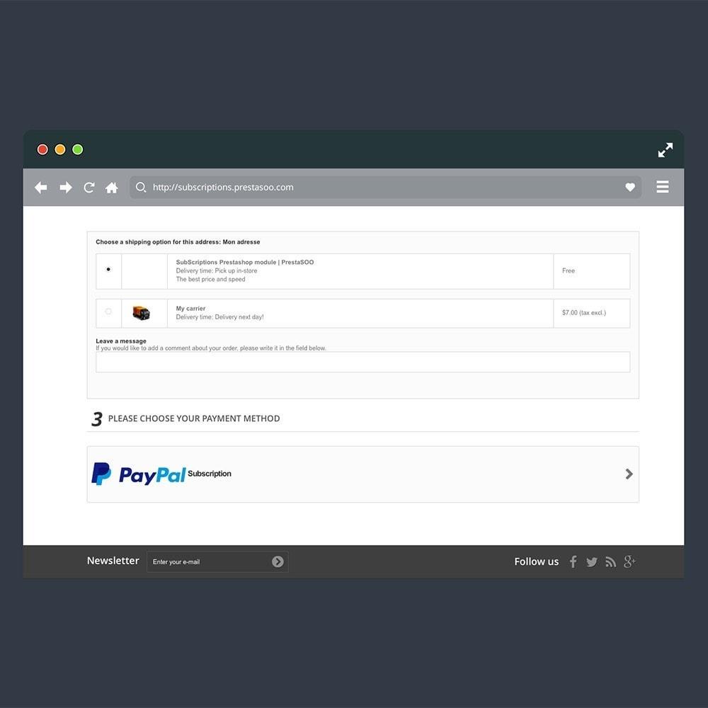 module - Paiement récurrent (abonnement) - ChargeMe - 4