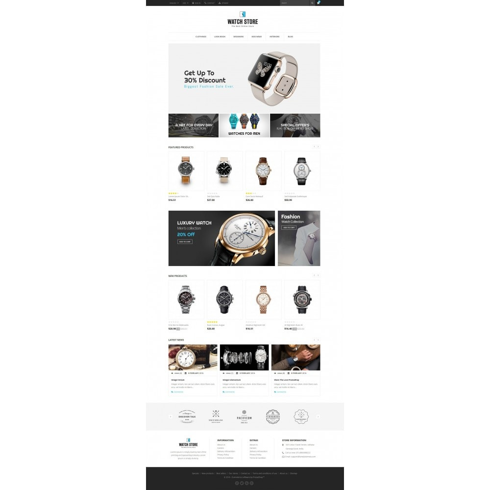 theme - Jewelry & Accessories - Latest Watch Store - 2