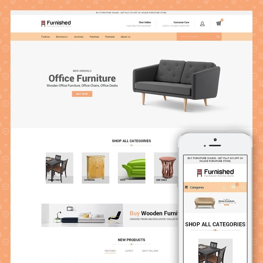 Furnished Best Online Store Prestashop Addons