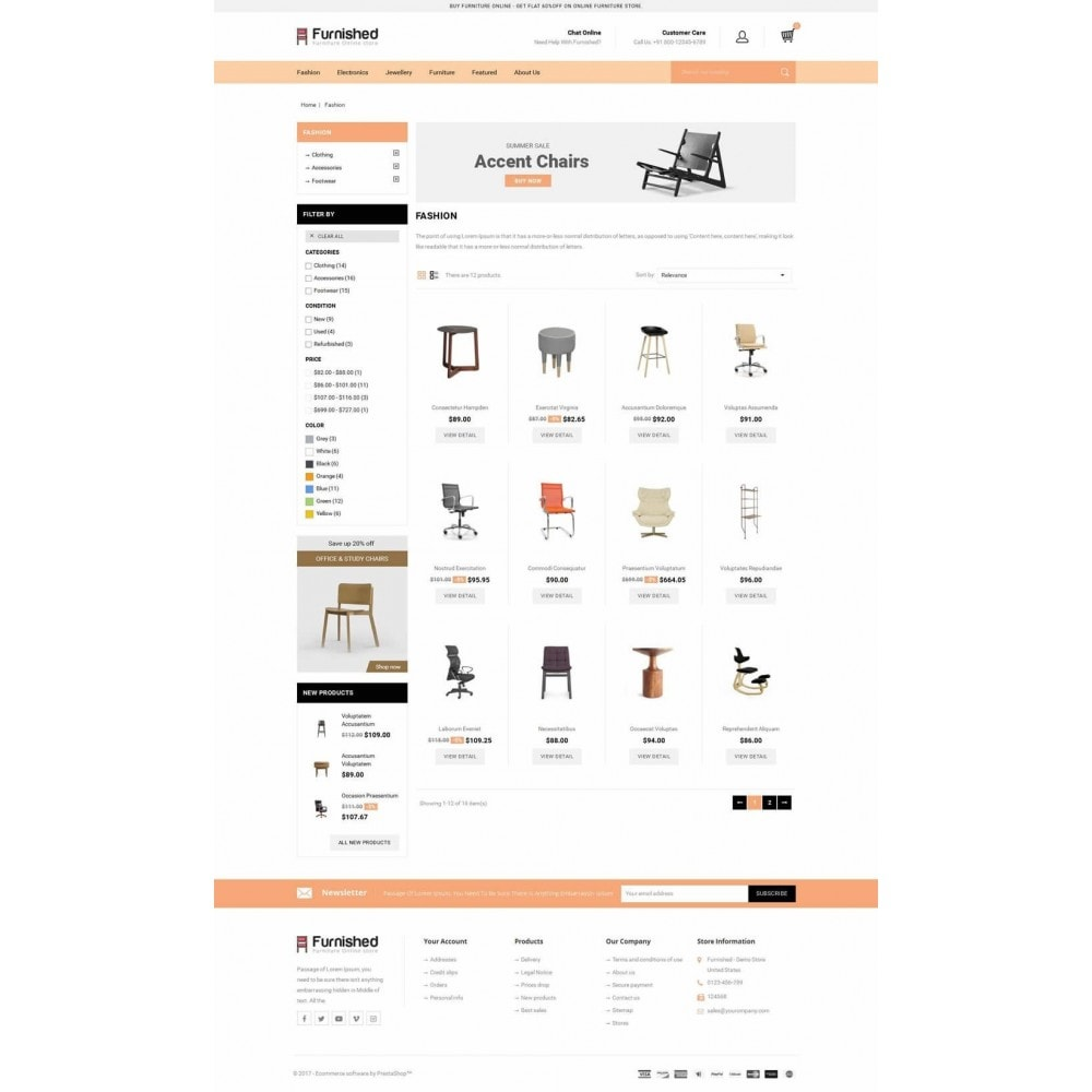 theme - Casa & Giardino - Furnished - Best Online Store - 3