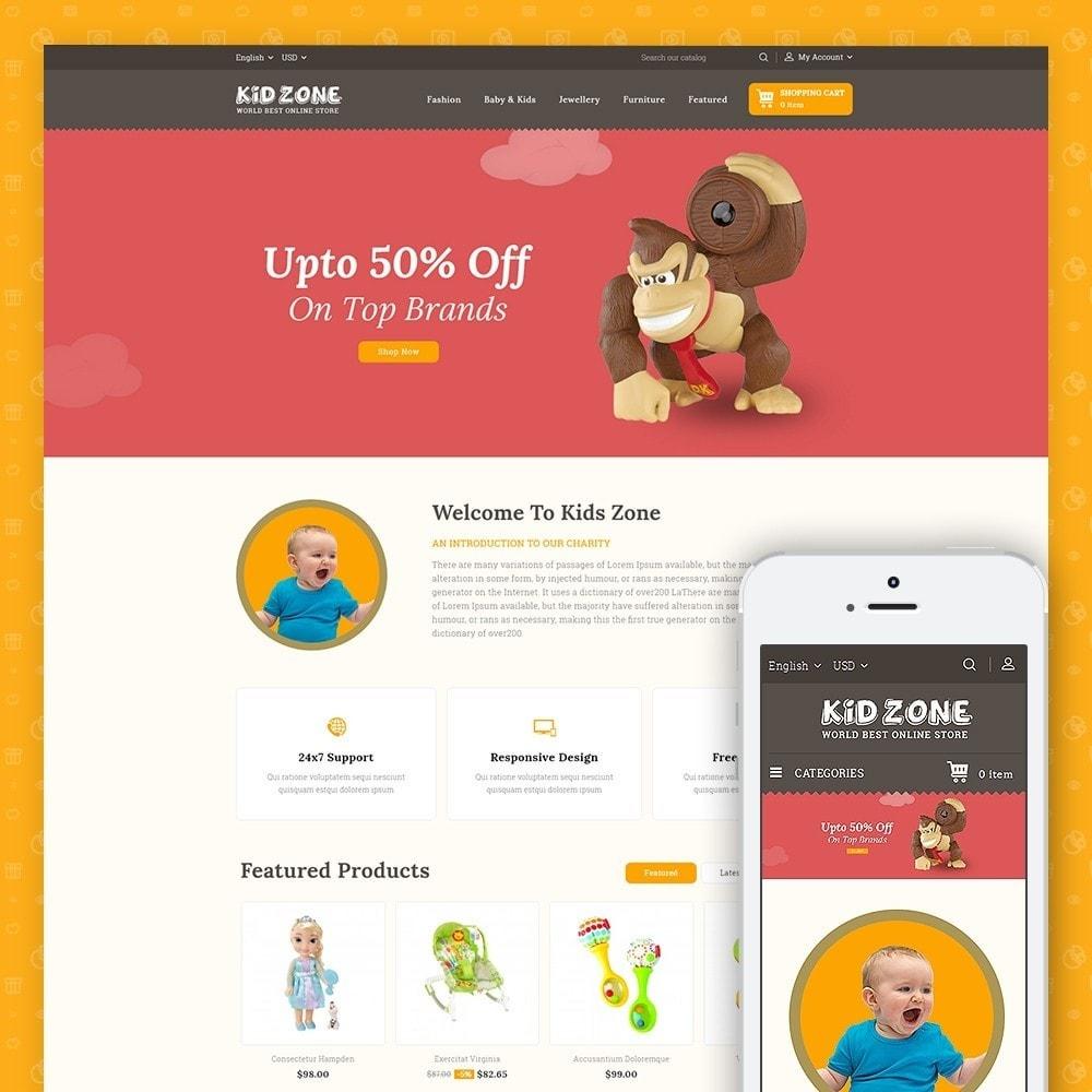 theme - Crianças & Brinquedos - Kid Zone Online Store - 1