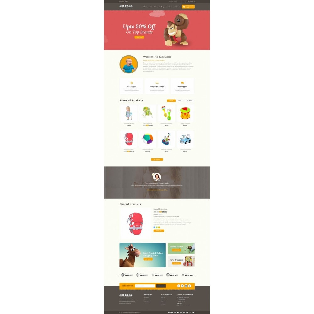 theme - Kinder & Spielzeug - Kid Zone Online Store - 2