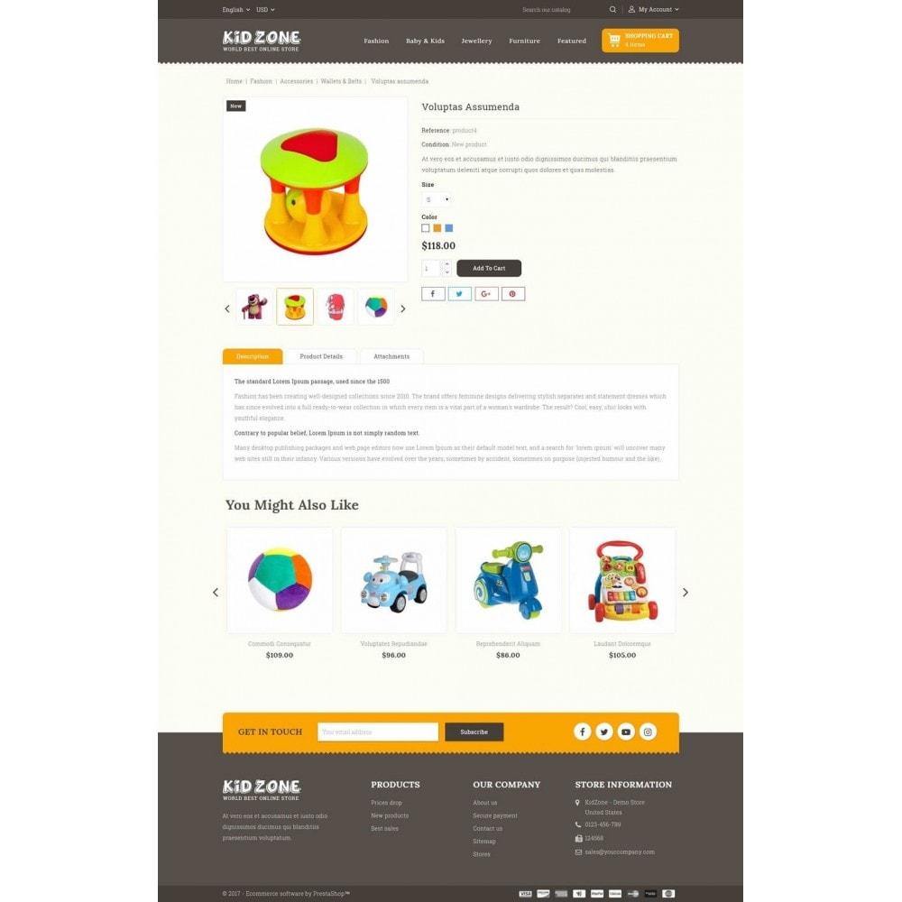 theme - Kinder & Spielzeug - Kid Zone Online Store - 5