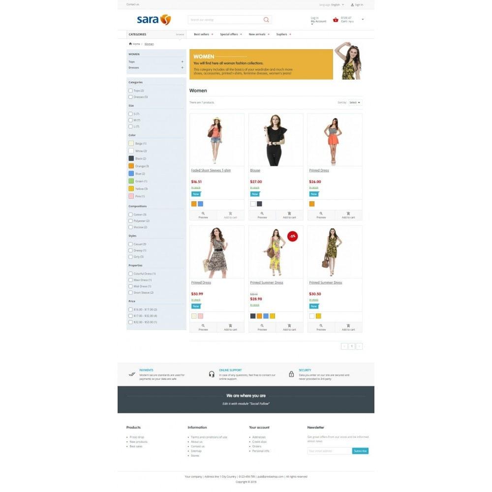 theme - Mode & Schuhe - Sara Fashion Store - 2