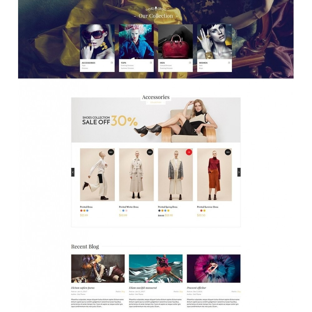 theme - Moda & Calzature - Blanc Fashion Store - 2