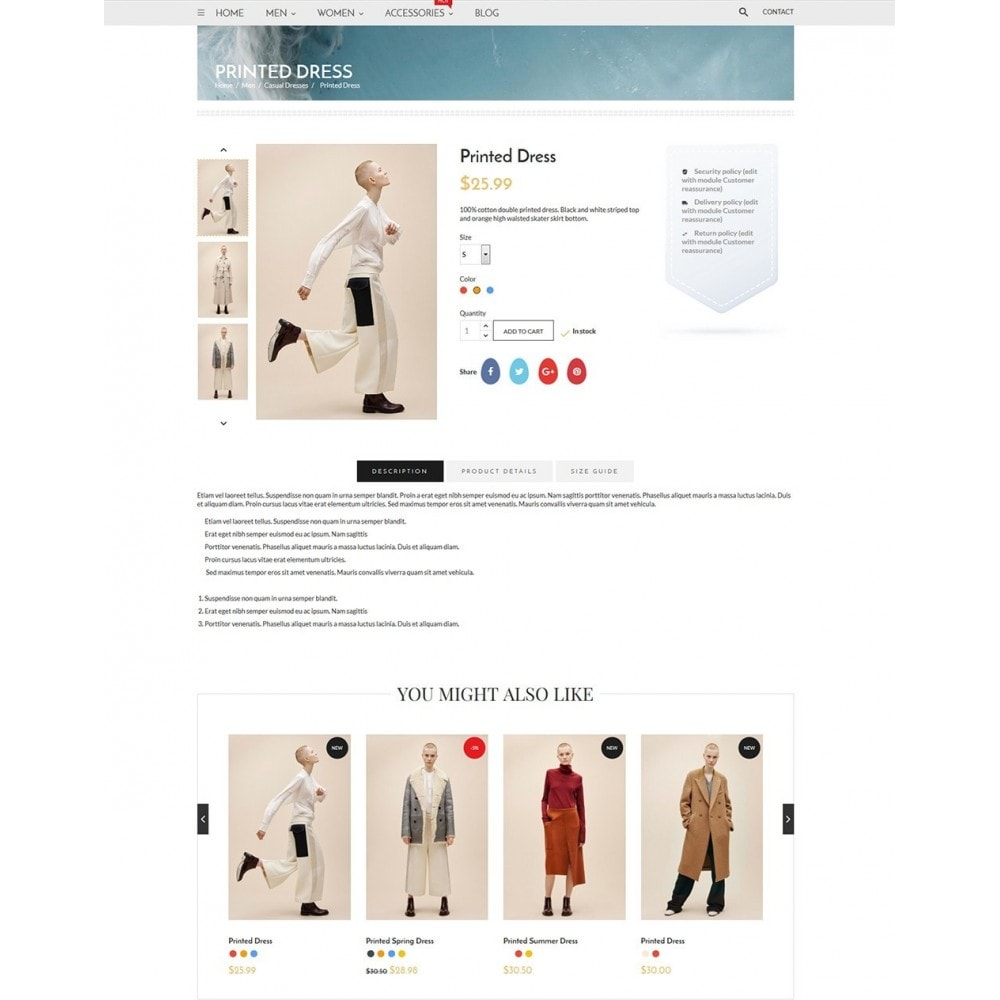 theme - Fashion & Shoes - Blanc Fashion Store - 6