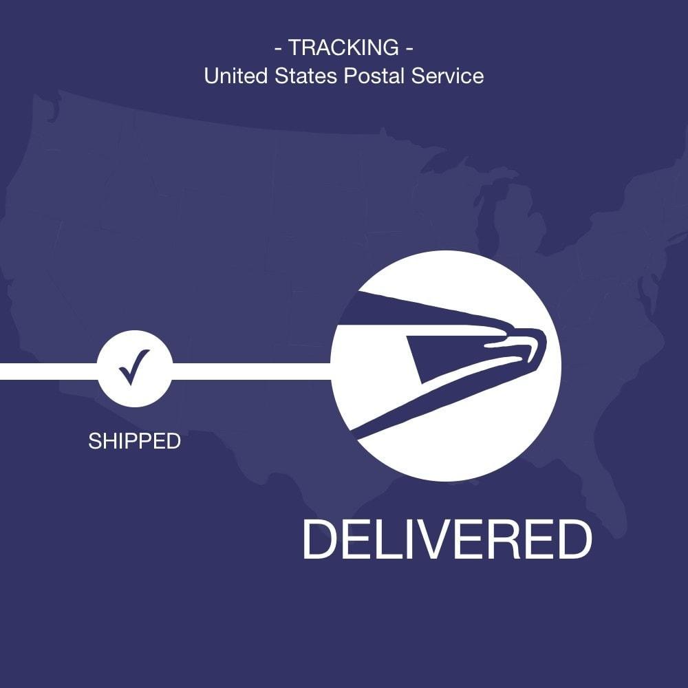 module - Sendungsverfolgung - USPS tracking - 1