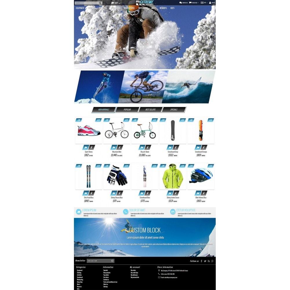 theme - Sport, Rozrywka & Podróże - Extreme Sport Store - 3