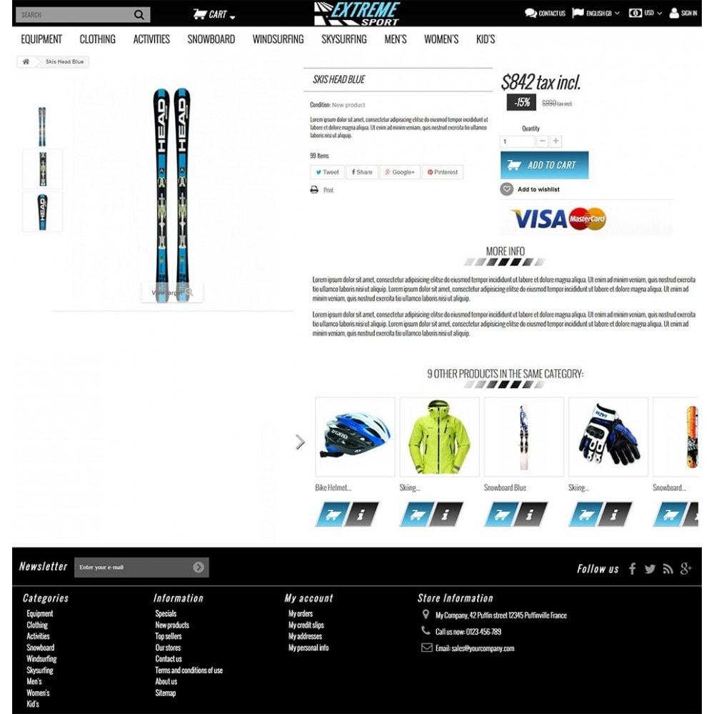 theme - Sport, Rozrywka & Podróże - Extreme Sport Store - 4