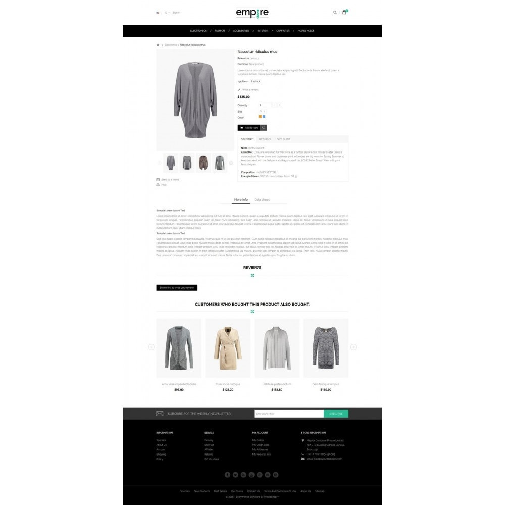 theme - Moda & Obuwie - Empire Shop - 5