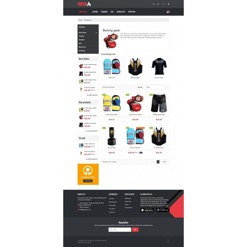 theme - Sport, Loisirs & Voyage - VP_MMA Store - 3