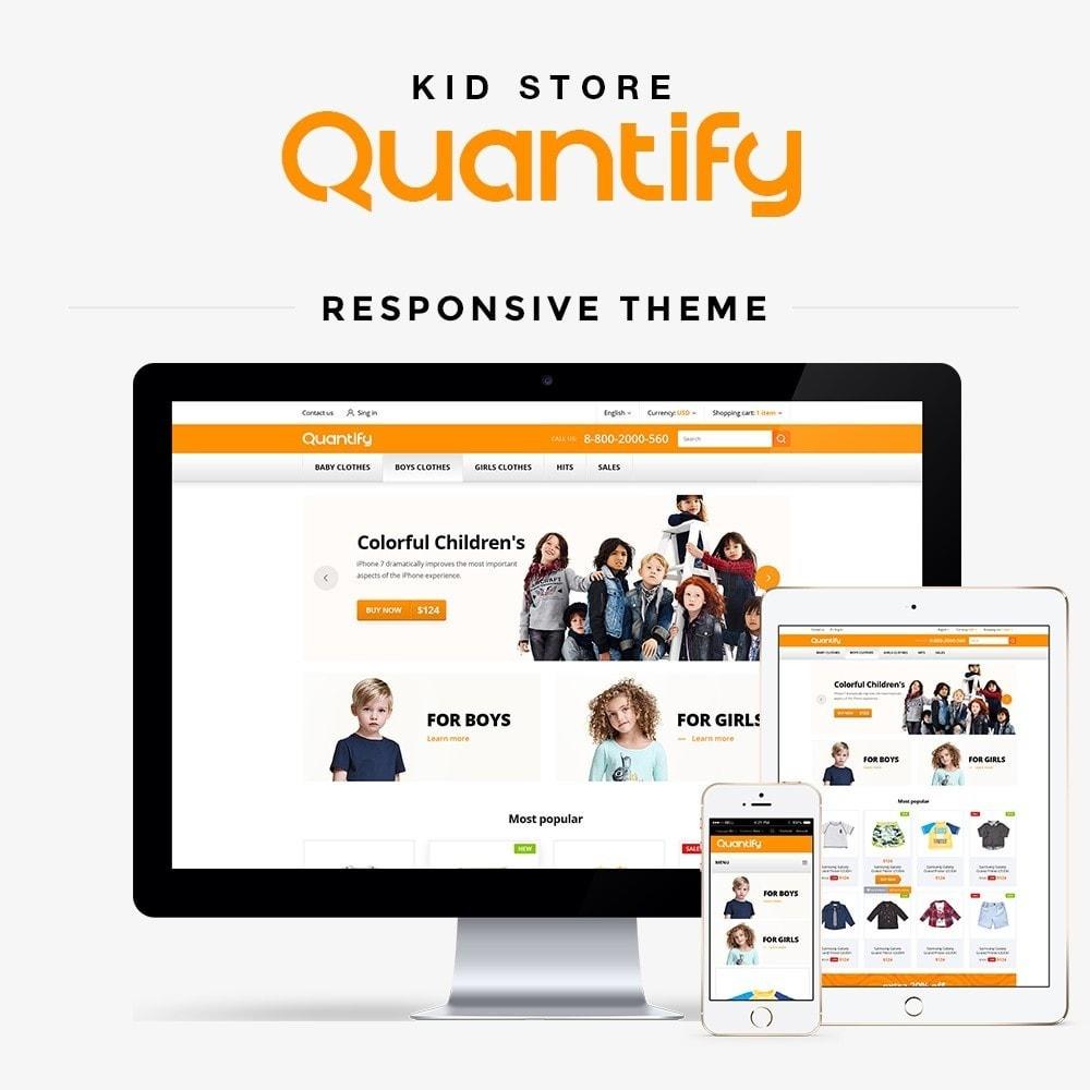 theme - Kinderen & Speelgoed - Quantify - Kids Clothes - 2
