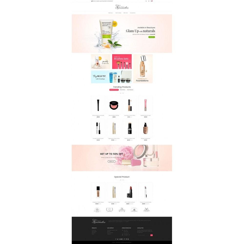 theme - Здоровье и красота - Cosmetics Store - 2