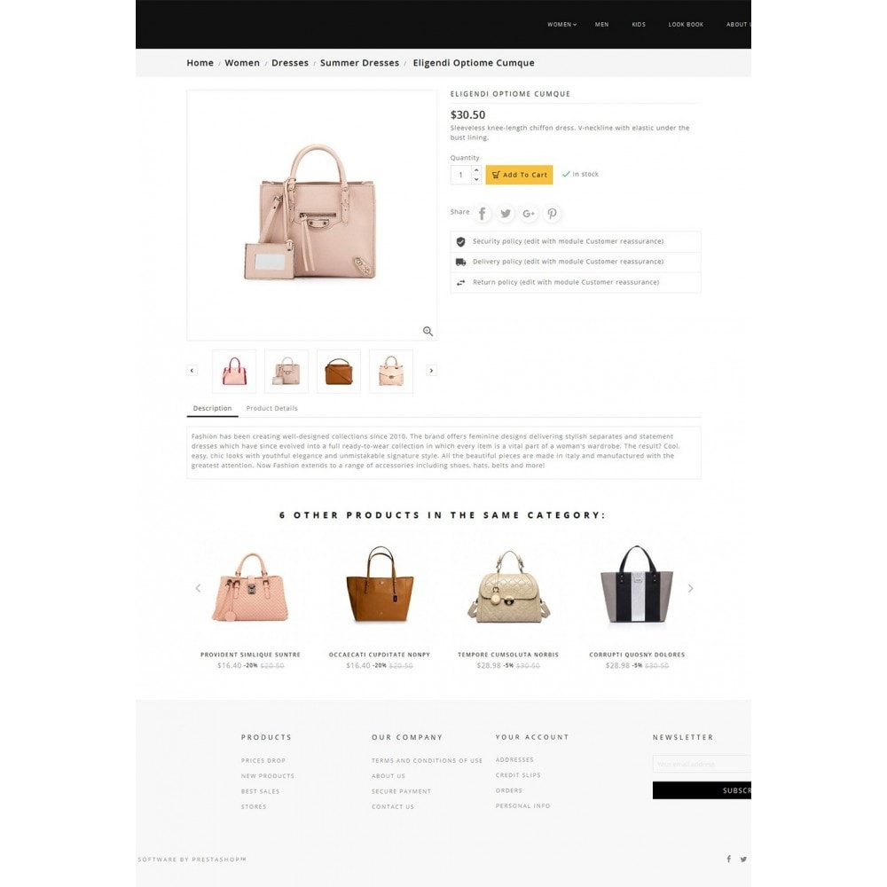 theme - Мода и обувь - Fashion Bag Store - 5