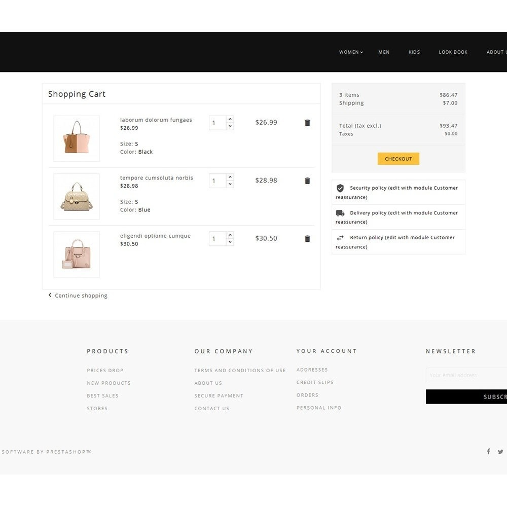 theme - Mode & Schoenen - Fashion Bag Store - 6