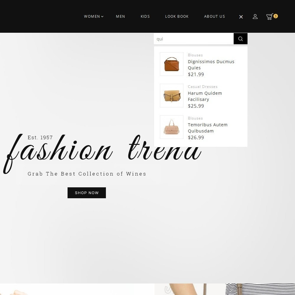 theme - Мода и обувь - Fashion Bag Store - 10