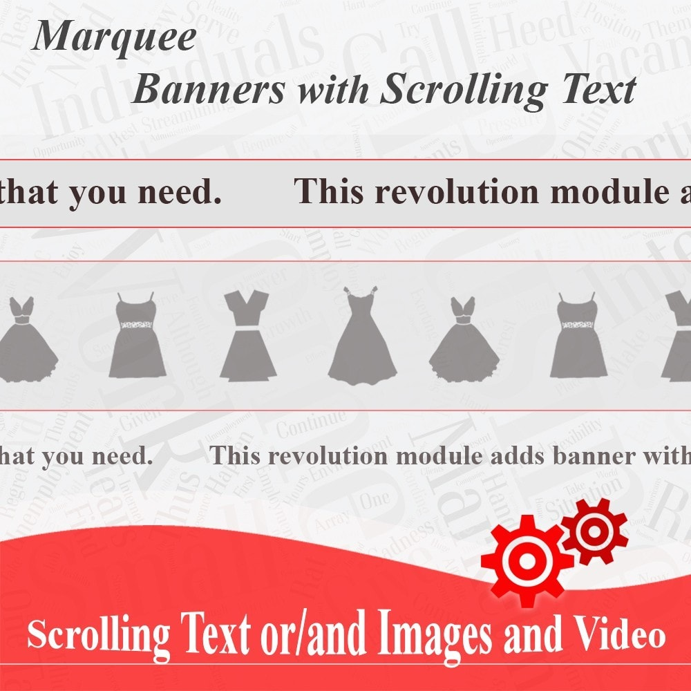 module - Blocs, Onglets & Bannières - Marquee, Banners with Scrolling Text or Images - 1