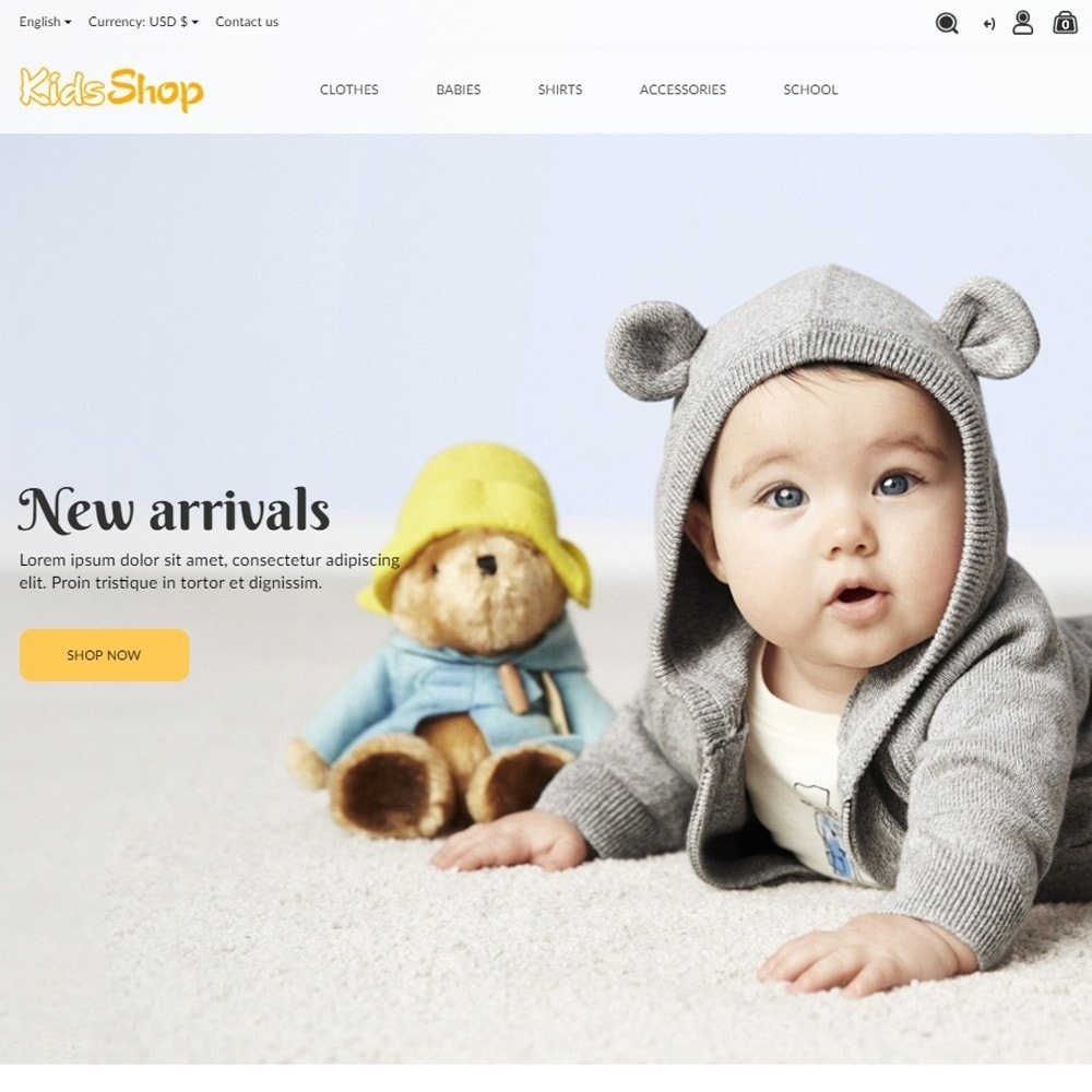 theme - Kids & Toys - KidsShop - 2