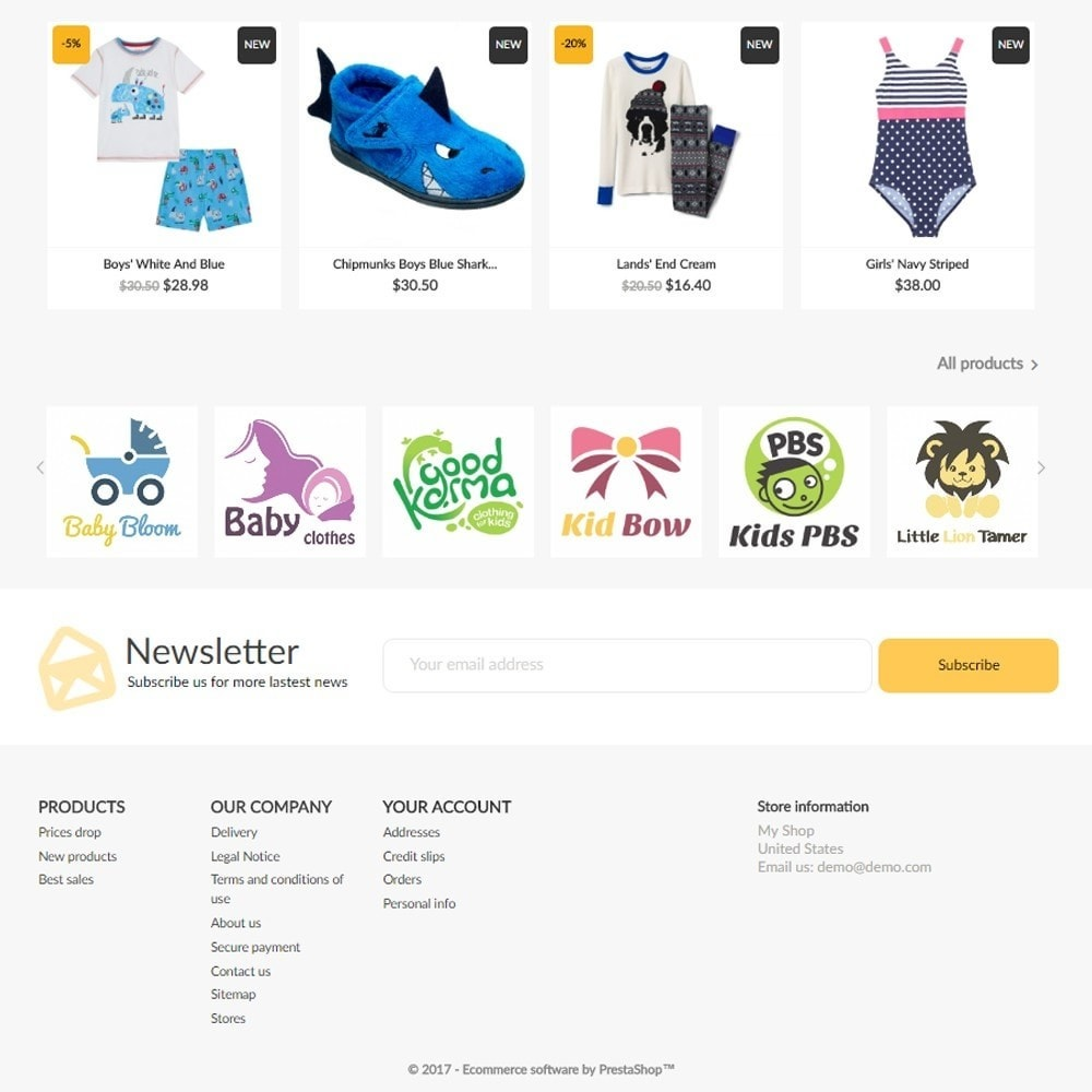 theme - Kids & Toys - KidsShop - 4