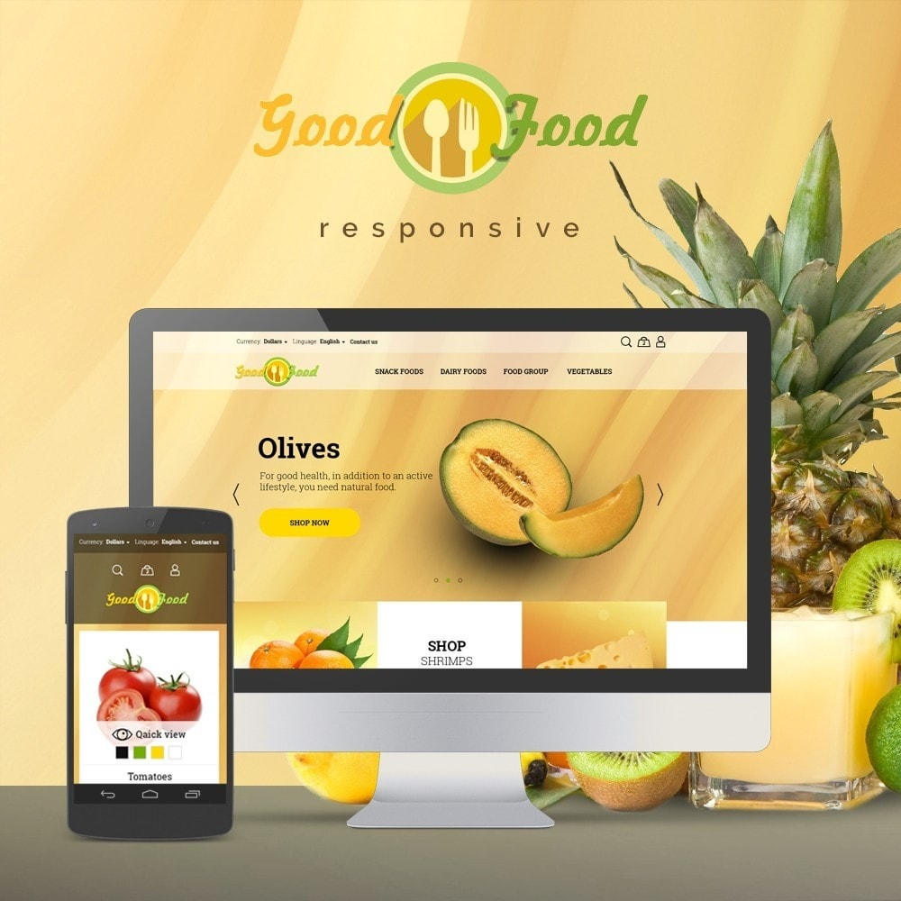 theme - Alimentos & Restaurantes - GoodFood - 1