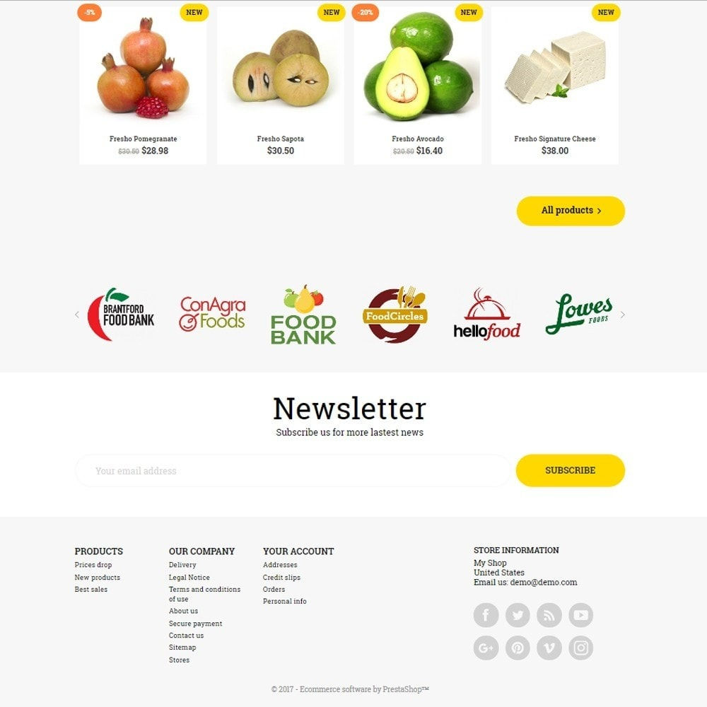 theme - Alimentos & Restaurantes - GoodFood - 4