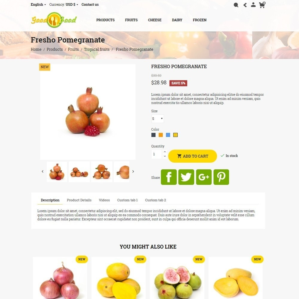theme - Alimentos & Restaurantes - GoodFood - 7