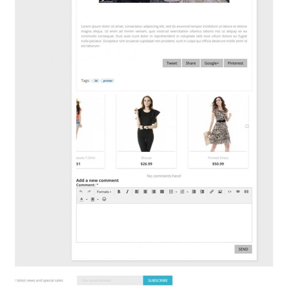 module - Blog, Forum & Aktualności - Modern Blog - Social comments - 8