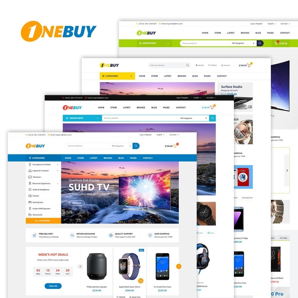 theme - Electronics & Computers - JMS OneBuy - 1