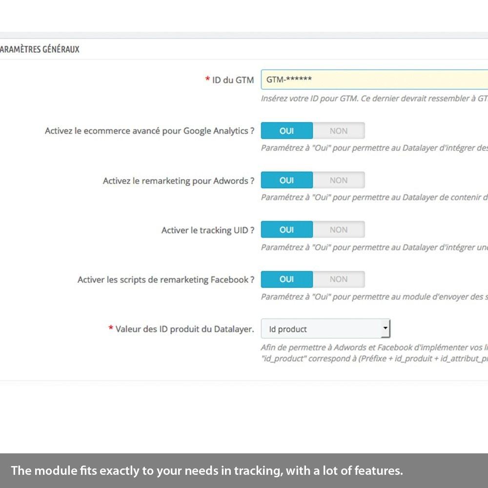 module - Remarketing & Warenkorbabbrüche - Analytics enhanced ecommerce, Adwords & Social tracking - 4