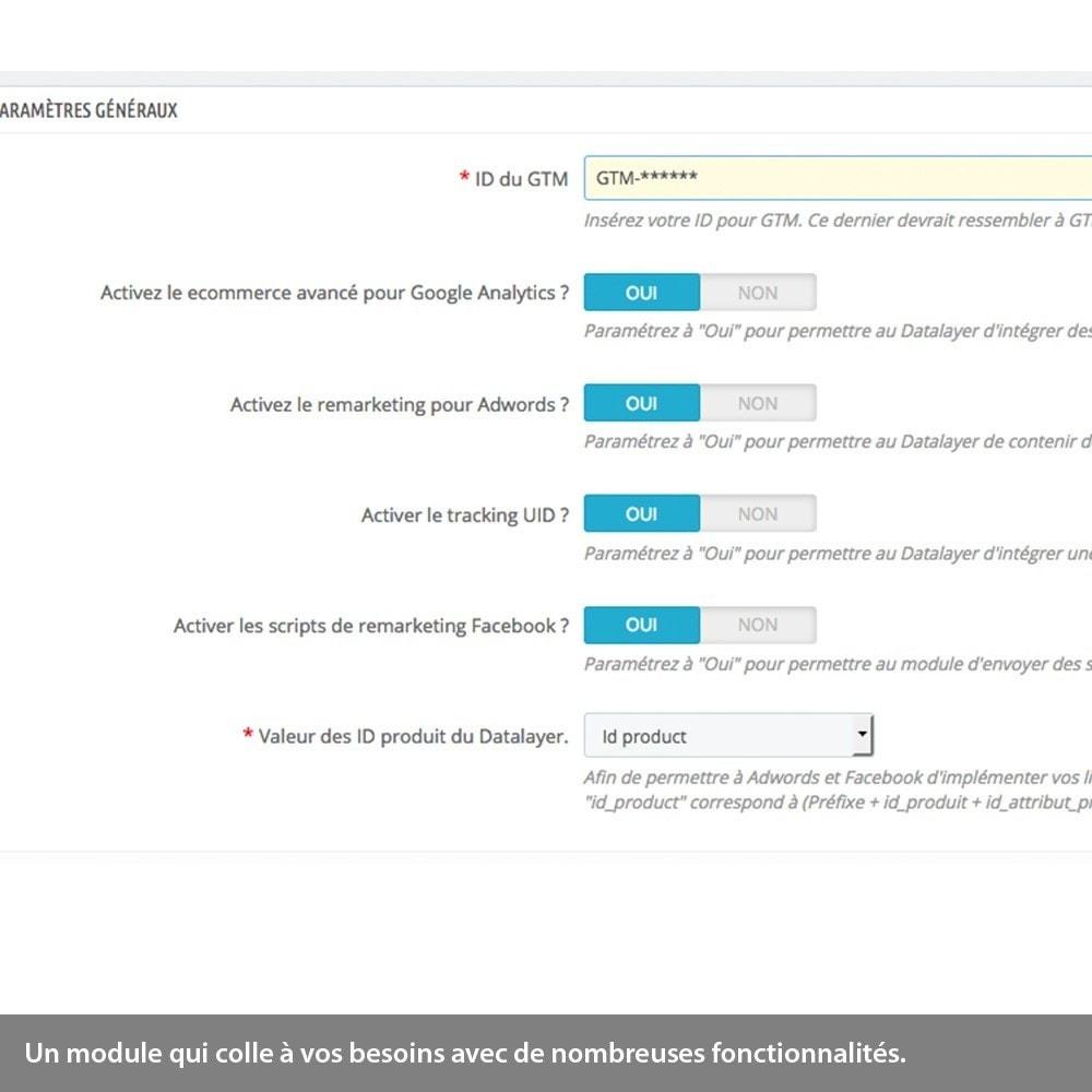 module - Remarketing & Paniers Abandonnés - Analytics enhanced ecommerce, Adwords & Social tracking - 1