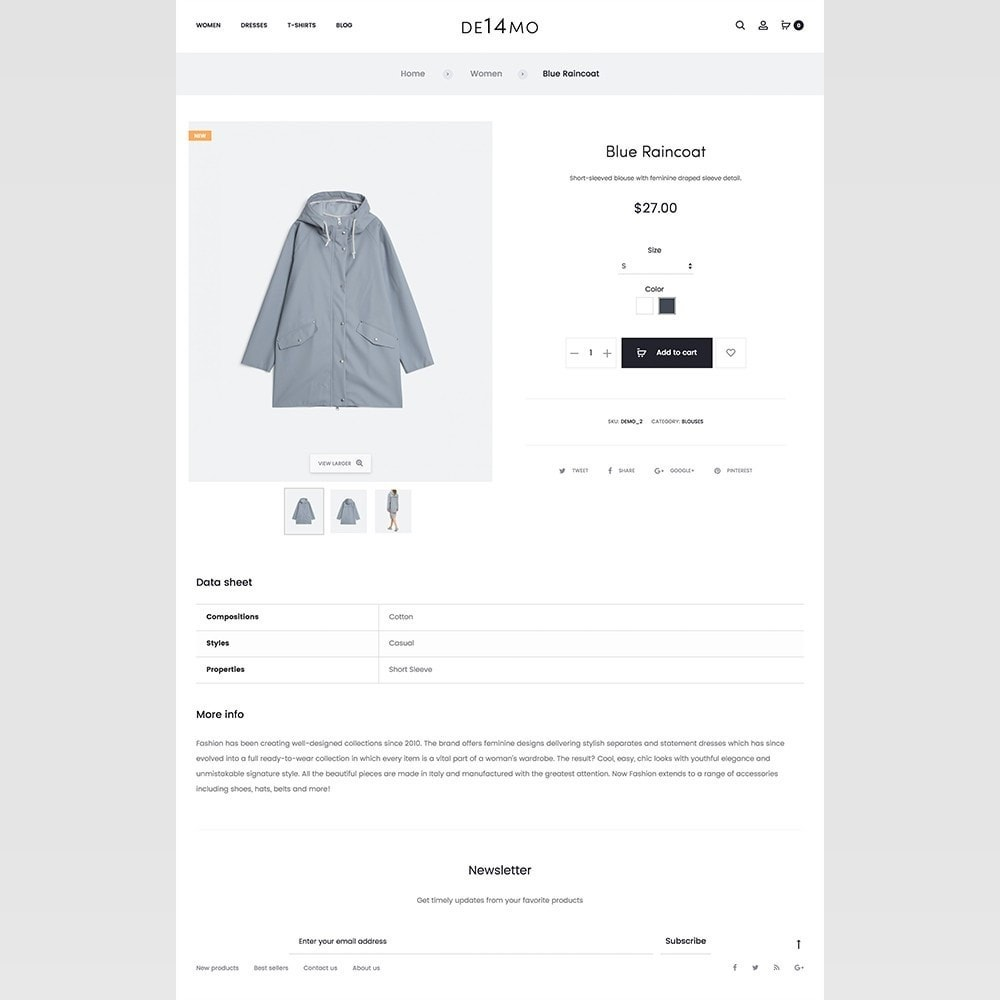 theme - Fashion & Shoes - mlc14 - A Unique and Modern e-Commerce - 8
