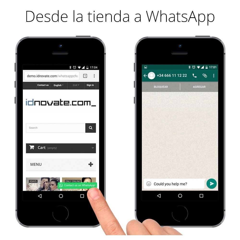whatsapp chat chat en vivo con tus clientes prestashop. Black Bedroom Furniture Sets. Home Design Ideas