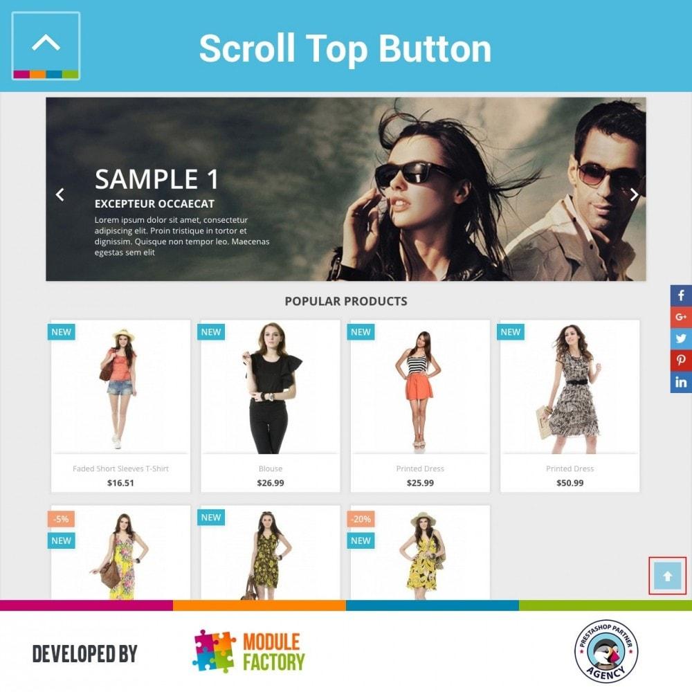 module - Инструменты навигации - Scroll Top Button - 1