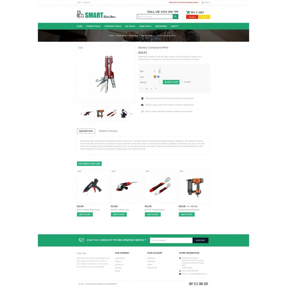 theme - Carros & Motos - Smart Tools Store - 5