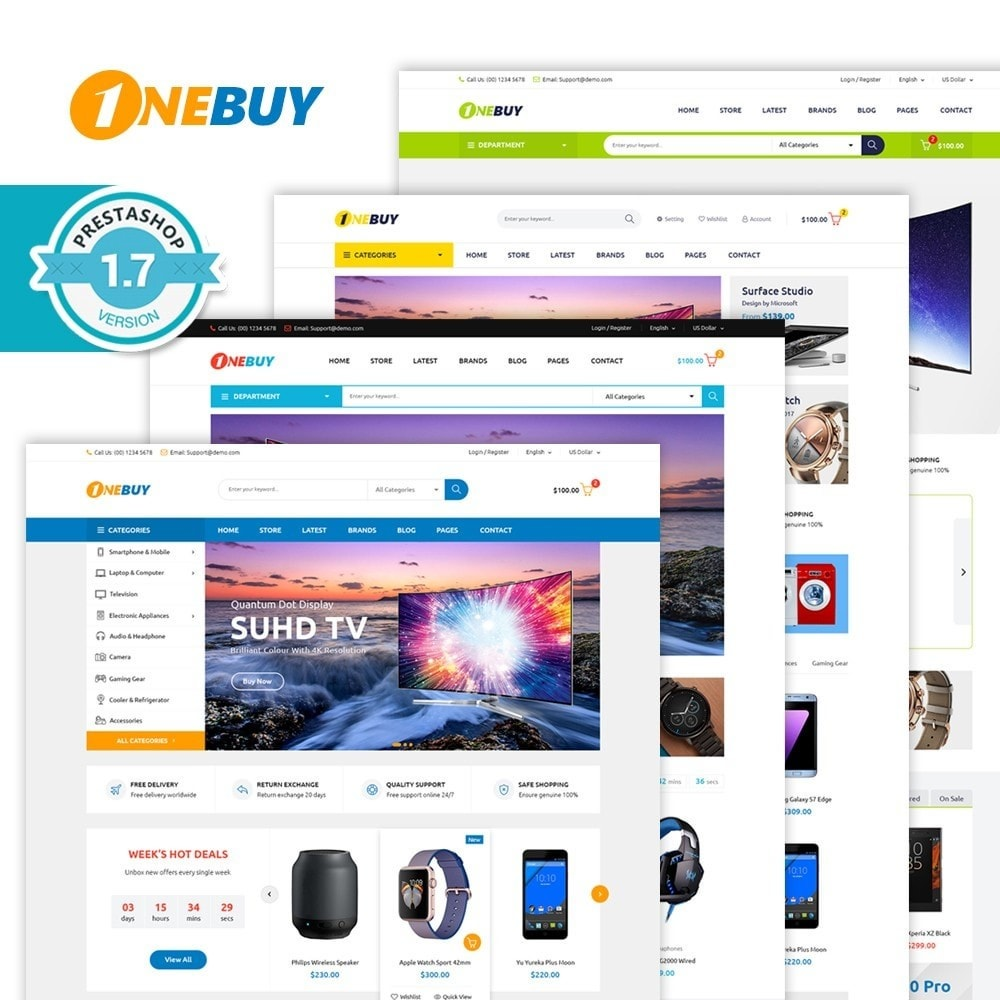 theme - Elektronica & High Tech - JMS OneBuy 1.7 - 1