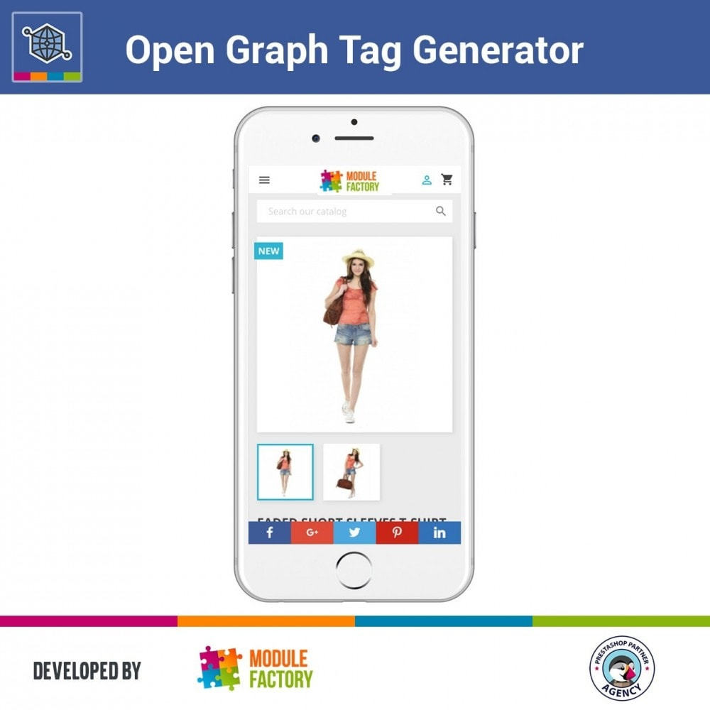 module - SEO - Automatic Open Graph Tag Generator + Share Buttons - 3