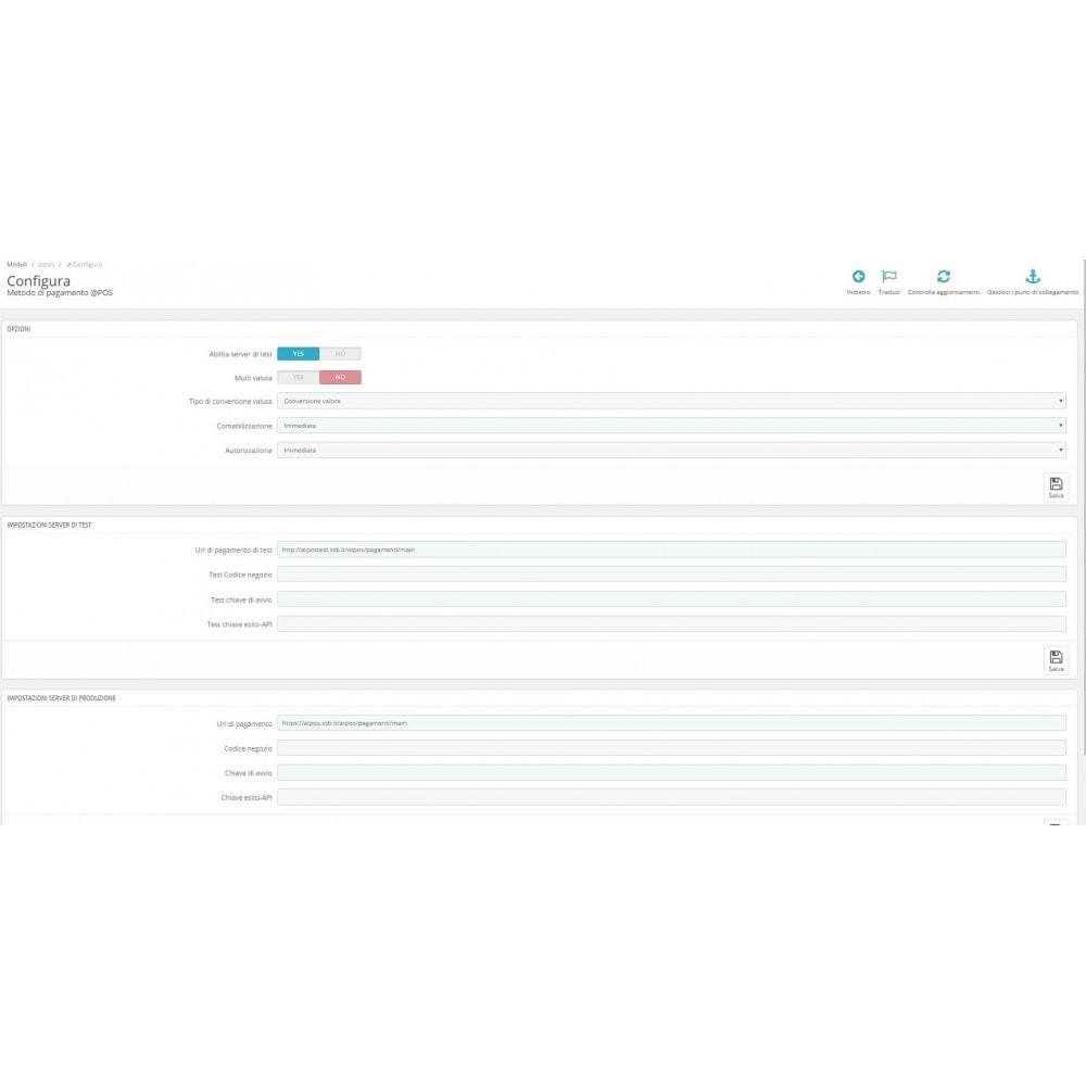 module - Software POS - Pos Virtuale @POS di SIA Avanzato Ufficiale - 1
