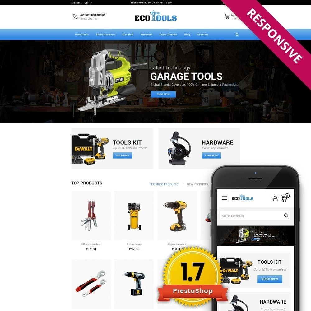 theme - Automotive & Cars - EcoTools Store - 1