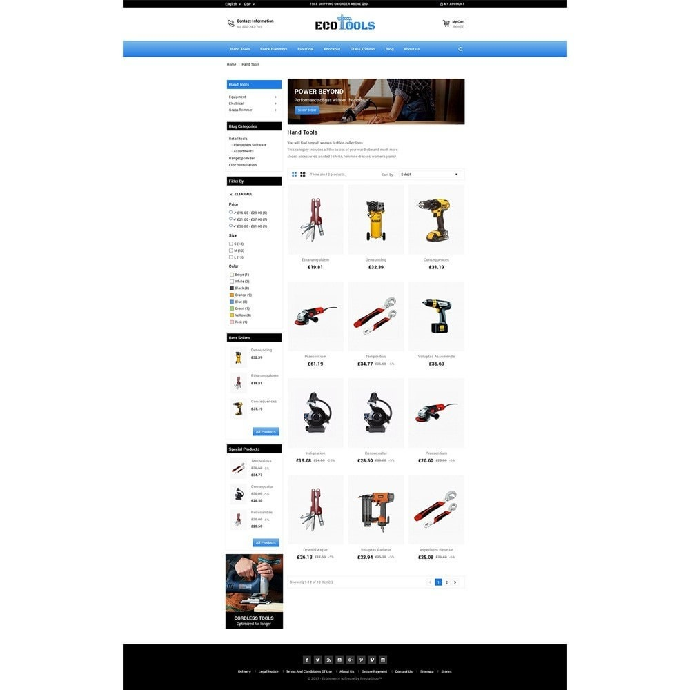theme - Automotive & Cars - EcoTools Store - 3