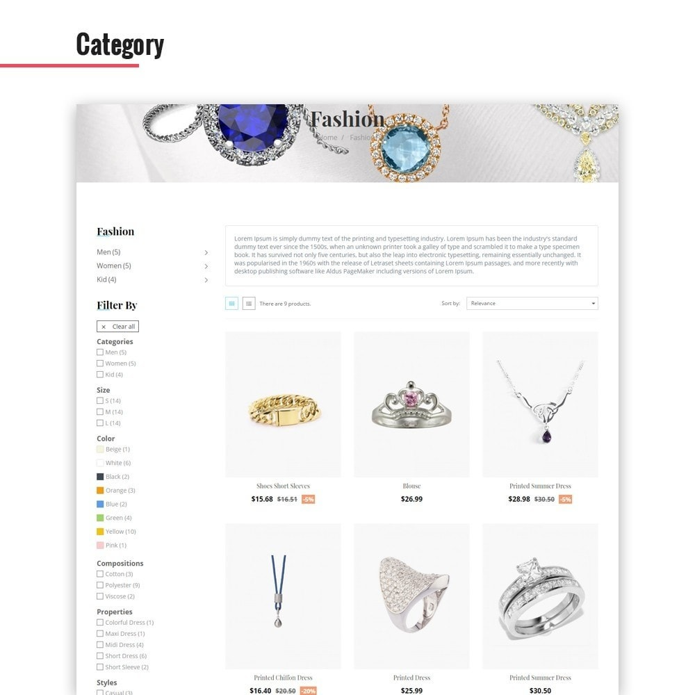 theme - Jewelry & Accessories - Leo Ciao - 2