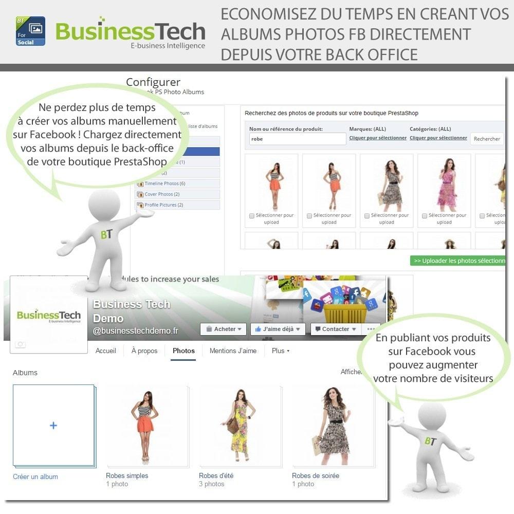 module - Produits sur Facebook & réseaux sociaux - Photo Albums pour LE Réseau Social - 3