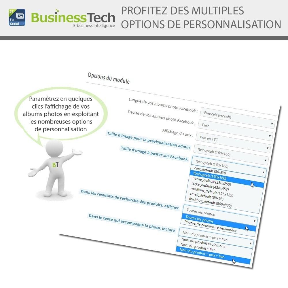 module - Produits sur Facebook & réseaux sociaux - Photo Albums pour LE Réseau Social - 4