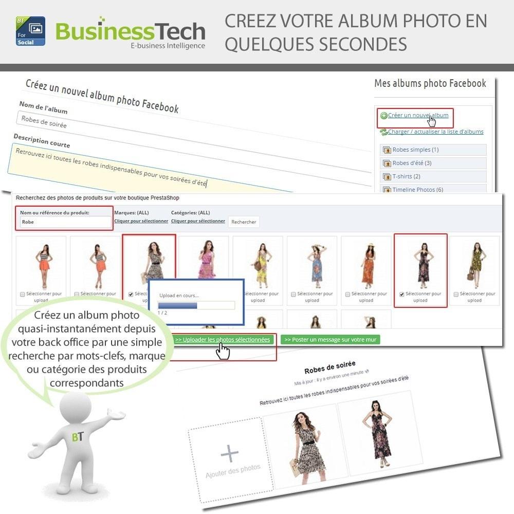 module - Produits sur Facebook & réseaux sociaux - Photo Albums pour LE Réseau Social - 5
