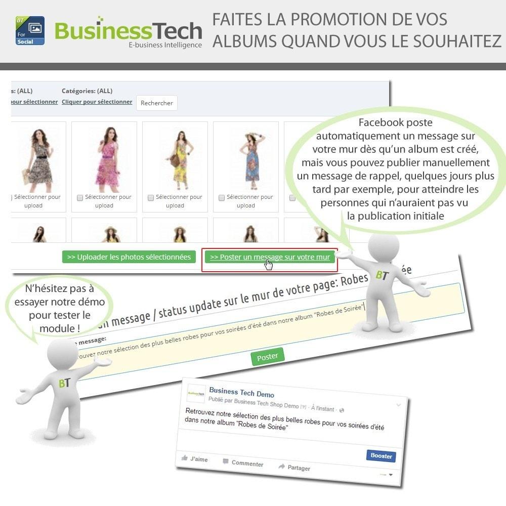 module - Produits sur Facebook & réseaux sociaux - Photo Albums pour LE Réseau Social - 6