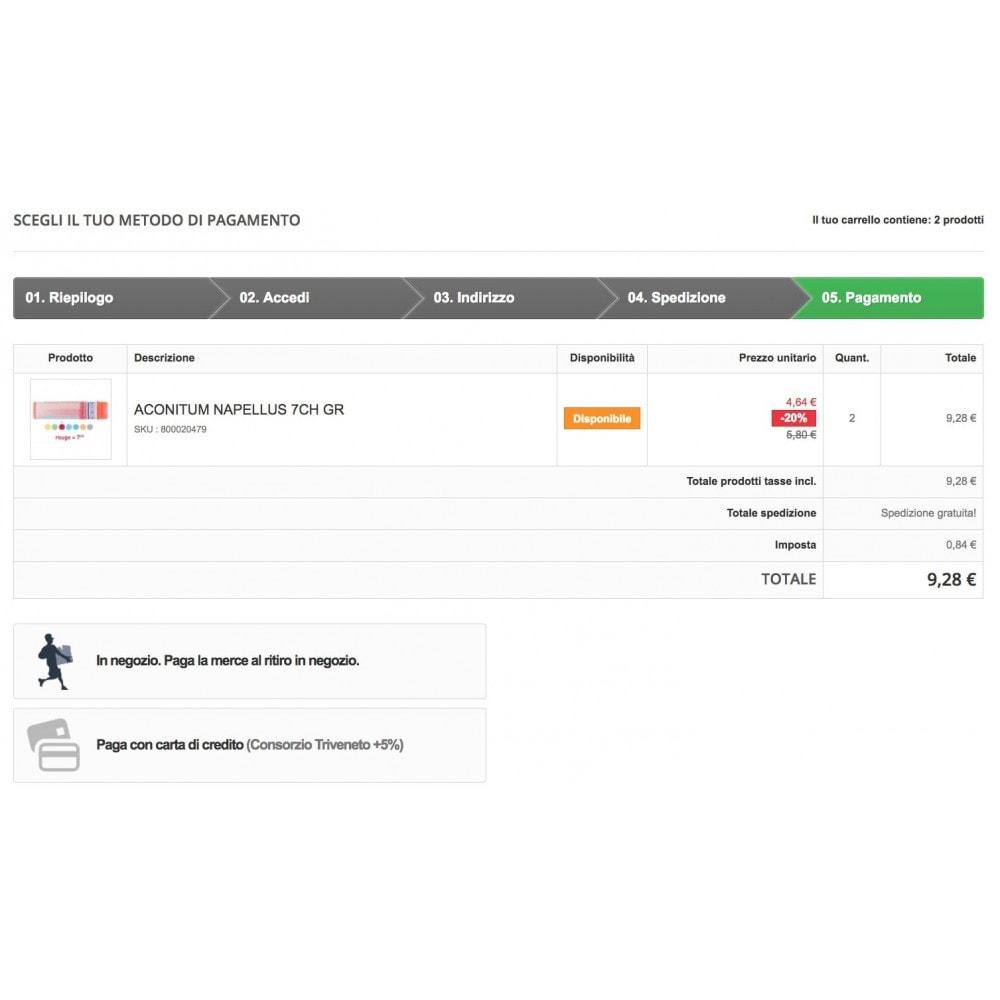 module - Pagamento con Carta di Credito o Wallet - Consorzio Triveneto Carte di Credito + fee - 1