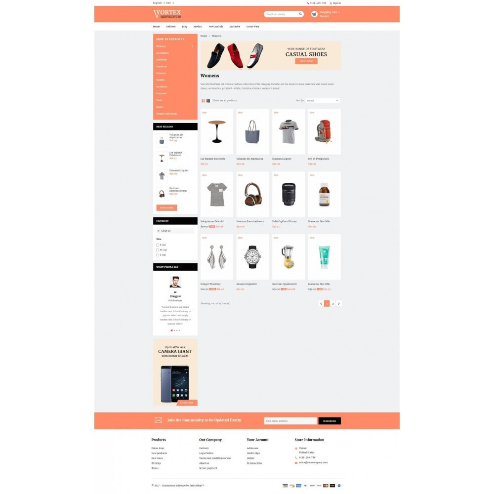 theme - Moda & Obuwie - Vortex Smart Multishop - 3