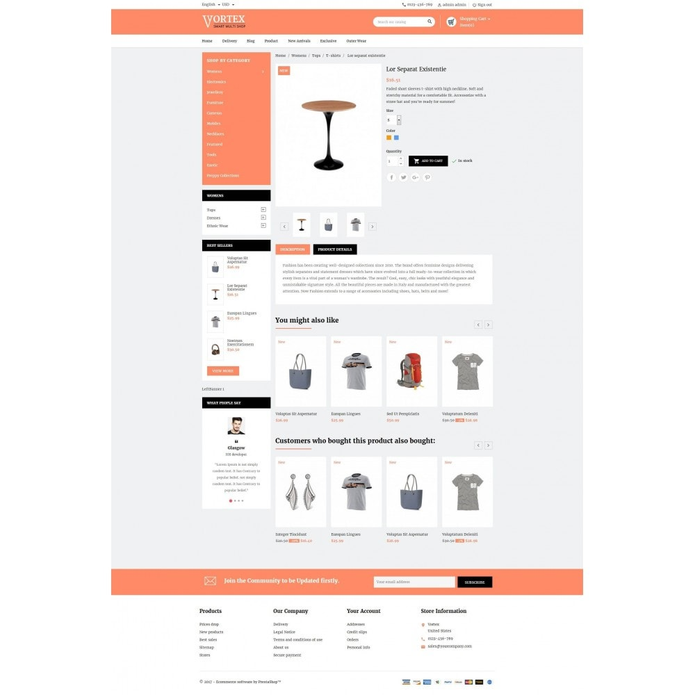 theme - Moda & Calzature - Vortex Smart Multishop - 5