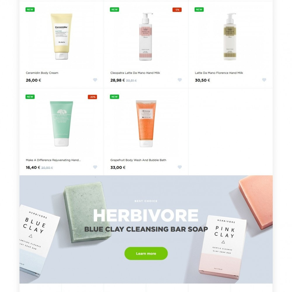 theme - Health & Beauty - Green Season Cosmetics - 3