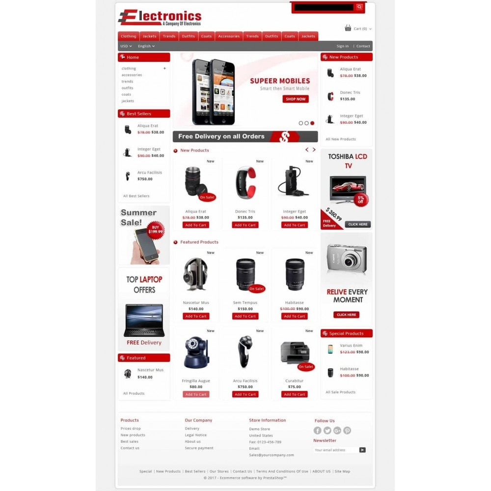 theme - Электроника и компьютеры - Electronics - Multipurpose Store - 2